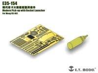 E.T. Model E35-154 Modern Pick-up with Rocket Launcher (For Meng VS-001) (1:35)
