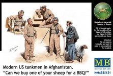 Master Box 35131 Modern US tankmen in Afghanistan (1:35)