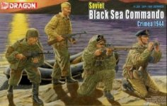 Dragon 6457 Soviet Black Sea Commando (1:35)