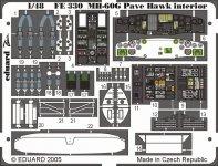 Eduard FE330 MH-60G interior 1/48 Italeri