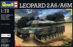 Revell 03180 Leopard 2 A6/A6M (1:72)