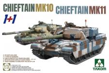 Takom 5006 Chieftain MK 10 & Chieftain MK 11 1+1 1/72