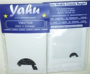 Yahu YMA7226 F4U-1/1A/1D Corsair (Tamiya / Revell) 1:72