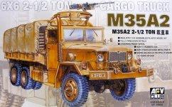 AFV Club 35004 M35A2 2 1/2 T Cargo Truck (1:35)