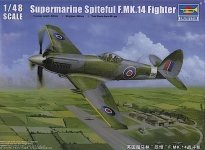 Trumpeter 02850 Supermarine Spiteful F.MK.14 Fighter (1:48)