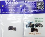 Yahu YMA4839 Me-262A (Tamiya / Hobby Boss / Triaster=Dragon) 1:48