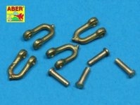Aber R-14 Early model shackle for Pz.Kpfw.V Panther x4 pcs (1:35)