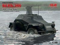 ICM 48193 Sd.Kfz.260, German Radio Communication Vehicle (1:48)