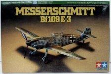 Tamiya 60750 Messerschmitt Bf109E-3 (1:72)