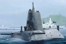 Hobby Boss 83509 HMS Astute class submarine (1:350)