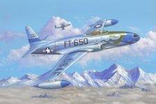 Hobby Boss 81725 F-80C Shooting Star fighter (1:48)
