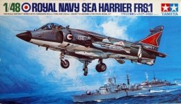 Tamiya 61026 Hawker Sea Harrier (1:48)