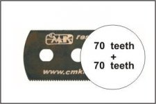 CMK H1001 Ultra smooth saw (both sides) 1pc