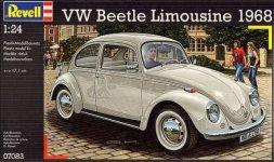 Revell 07083 VW Kafer 1500 (Limousine) (1:24)