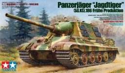 Tamiya 35295 German Heavy Tank Destroyer Jagdtiger Early Production (1:35)