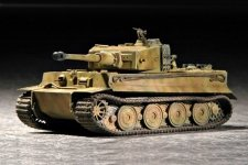 Trumpeter 07244 Tiger 1 tank (Late) (1:72)