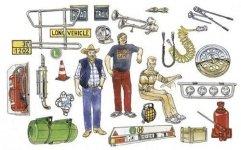 Italeri 0720 Truck Accessories (1:24)