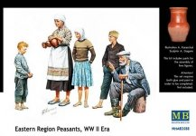 Master Box 3588 Eastern Region Peasants (1:35)