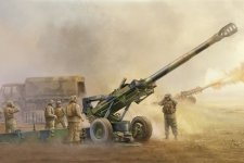 Trumpeter 02319 M198 Medium Towed Howitzer late (1:35)