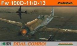 Eduard 8185 Fw 190D-11/ D-13 DUAL COMBO 1/48 (1:48)