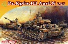 Dragon 7386 Pz.Kpfw.III Ausf.N DAK (1:72)