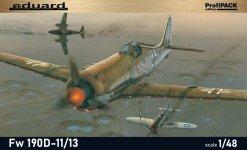 Eduard 8185 Fw 190D-11/ D-13 1/48