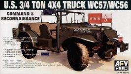 AFV Club 35S16 WC57 Command Car (1:35)