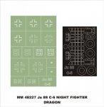 Montex MM48227 Ju-88C-6 NIGHT FIGHTER DRAGON