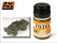 AK Interactive AK 071 blue for panzer grey filter 35 ml