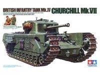 Tamiya 35210 British Infantry Tank Mk.IV Churchill Mk.VII (1:35)