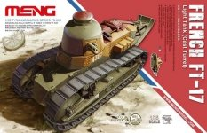 Meng Models TS-008 French FT-17 Light Tank (Cast Turret) (1:35)