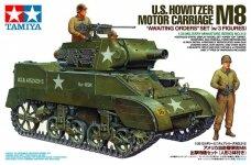 Tamiya 35312 U.S. Howitzer Motor Carriage M8 Awaiting Orders Set (w/3 Figures) (1:35)