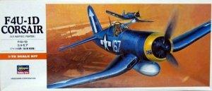 Hasegawa A10 F4U-1D Corsair 1/72