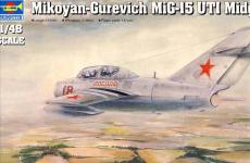 Trumpeter 02805 Mikoyan-Gurevich MiG-15 UTI Midget (1:48)