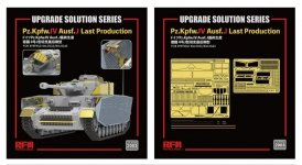 Rye Field Model 2003 Upgrade Solution Series for Pz.Kpfw.IV Ausf. J Last Production 1/35
