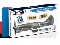 Hataka HTK-BS07 BLUE LINE – Royal Air Force paint set 6x17ml