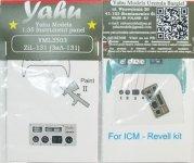 Yahu YML3503 ZIL 131 (ICM, Revell) 1:35