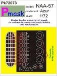 P-Mask PK72073 NAA-57 (AZUR) (1:72)