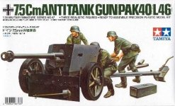 Tamiya 35047 German 75mm Anti-Tank Gun (1:35)