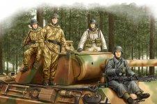 Hobby Boss 84405 German Panzer Grenadiers Vol.2 1/35