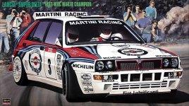 Hasegawa CR15 Lancia Super Delta 92 WRC (1:24)