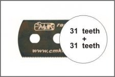 CMK H1003 Smooth saw (both sides) 1pc