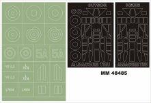 Montex MM48485 Fairey Albacore TRUMPETER 5810 1:48