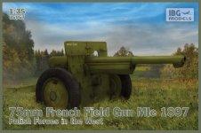IBG 35057 75mm French Field GunMle Polish Forces 1/35