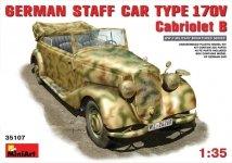 MiniArt 35107 GERMAN STAFF CAR MB 170V. CABRIOLET (1:35)