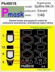 P-Mask PK48018 SUPERMARINE SPITFIRE MK.IX (EDUARD) (1:48)