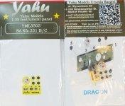 Yahu YML3505 Sd.Kfz 251 Dragon / Zvezda (1:35)