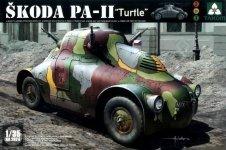 Takom 2024 Skoda PA-II Turtle 1/35