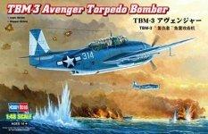 Hobby Boss 80325 TBM-3 Avenger Torpedo Bomber (1:48)