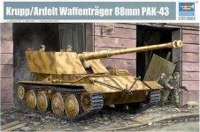 Trumpeter 01587 Krupp / Ardelt Waffentrager 88 mm PAK-43 (1:35)